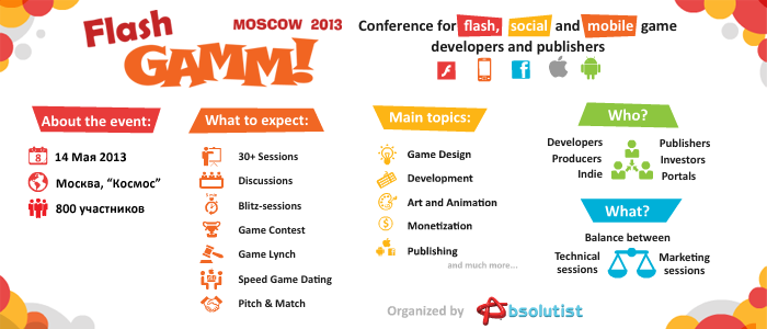 Анонс Flash GAMM Moscow 2013